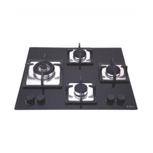 Elica 4 Burner Black Auto Ignition Cook Top