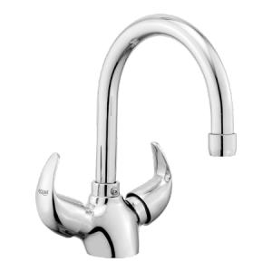 Eauset Oblo Single Lever Sink Mixer with swinging spout table mounted, FOB066