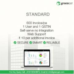 GreenGST Standard Pack For 600 Invoices Per Annum