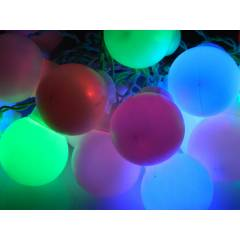 Tucasa Multi Colour Florocent Ball String Light, DW-313