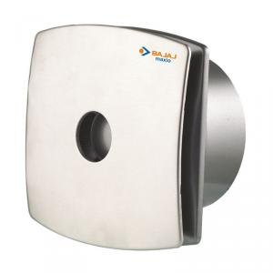 Bajaj Maxio Silver Exhaust Fan, Sweep: 100 mm