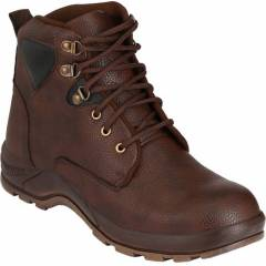 Udenchi UD690 Steel Toe Brown Safety Shoes, Size: 6
