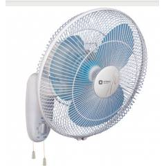 Orient Wall-44 1330rpm Blue & White Wall Fan, Sweep: 400 mm