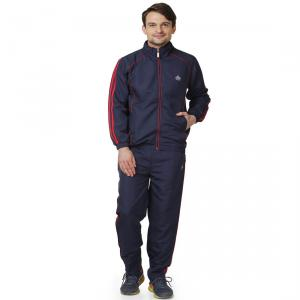 Abloom 130 Navy Blue & Red Tracksuit, Size: L