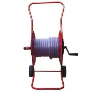 Falcon Falcon Stand Push Wheels Type Premium Hose Reel Without Hose Pipe, FPHR-215