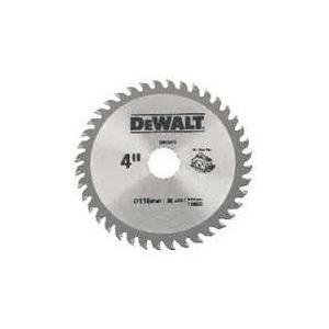Dewalt 110mm 30 Teeth Circular Saw Blade For Wood, DW03430
