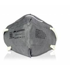 3M 9000ING Dust/Mist Antipollution Grey P1 Respirator Mask (Pack of 20)