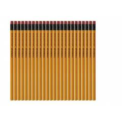 Staedtler 134 HB Yellow Pencil with Eraser Tip (Pack of 12)