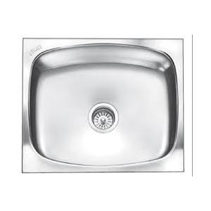 Carysil Elegance Series Matt Finish Stainless Steel Kitchen Sinks, 21x18x8, Dimensions: 533 x 457 mm
