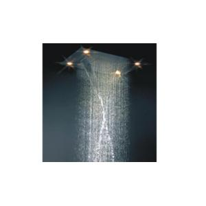 Bravat Ballet Shower BL-RS-80N 32 Inches Stainless Steel Multi-Function stop Shower with Bluetooth Control Speakers and Led Light