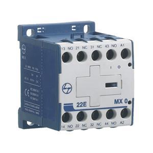 L&T Control Relays auxiliary Contactors MX0-Type CS94027 220V DC