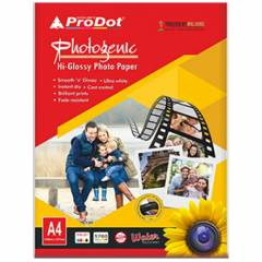 Prodot 130 GSM A4 Glossy Photo Paper, 50 Sheets