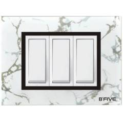B-Five Marvel 2 Module Cover Plate, B-062M (Pack of 10)