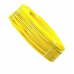 Kalinga Gold 6 Sq mm Yellow FR PVC Housing Wire, Length: 90 m