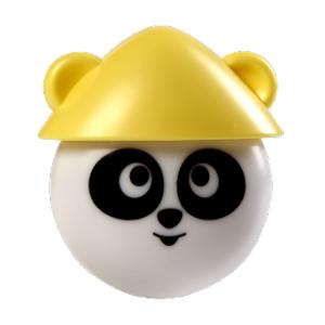 Havells Adore 0.5W Panda LED Night Light, LHEHDDP7IN1X010