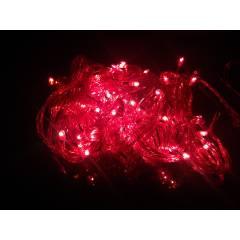 Blackberry Overseas 15m Pink Colour Decorative Rice LED Light (Pack of 2)