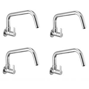 Oleanna ORANGE Sink Cock with Long Spout, O-08 (Pack of 4)