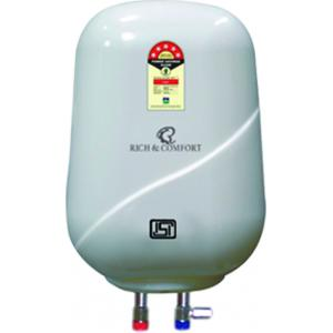 Rich & Comfort 10 Litre White Storage Water Heater, MAJESTY GPU 10