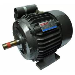 MXVOLT 2 HP 4 Pole Single Phase Foot Mounted Induction Motor