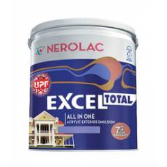 Nerolac Excel Total Paint, Ming Red-4L
