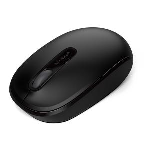 Microsoft 1850 Black Wireless Mouse, U7Z-00001