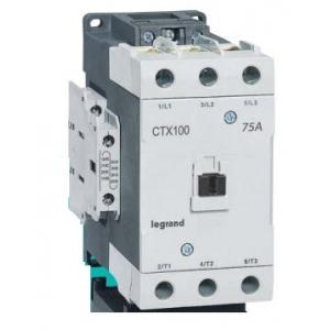 Legrand 3 Pole Contactors CTX³ 100 Cage Terminal Integrated Auxiliary Contacts 2 NO + 2 NC, 4162 16