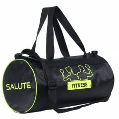 Salute Basic New 30 Litre Black Polyester Duffel Bag