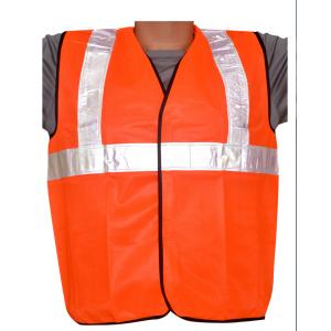 Pavo Aves 2Inch High Visibility Orange Reflective Safety Jackets (Pack of 5)