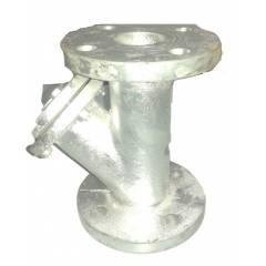 Crest Y Type CI Flanged End Strainer, MTC-55, Size: 100 mm
