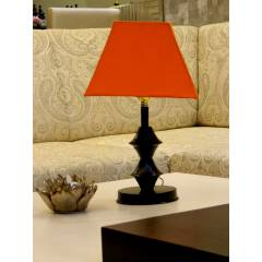 Tucasa Table Lamp with Square Shade, LG-540, Weight: 300 g