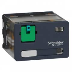 Schneider 15A 48VDC Plug in Power Relay With LED, RPM42ED