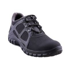 Timberwood TW05A Low Ankle Steel Toe Black Safety Shoes, Size: 6
