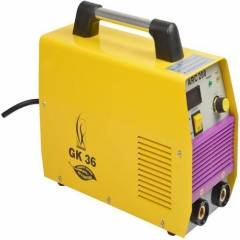 GK 36 Single Phase Welding Machine with Accessories, ARC 200