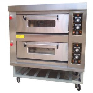 Techmate 12.8kW Double Deck Oven with Stand, 1000058188