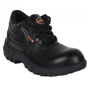 Mangla Swatch Steel Toe Black Safety Shoes