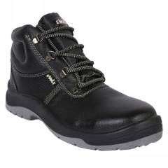 E Volt 82214 High Ankle Steel Toe Pekka Safety Shoes, Size: 6