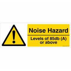 Safety Sign Store Noise Hazard Sign Board, CW424-2159V-01