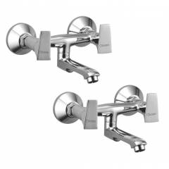 Oleanna GLOBAL Non Telephonic Wall Mixer, GL-11 (Pack of 2)