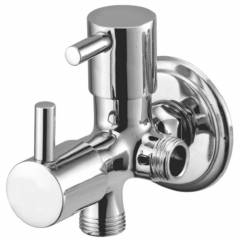 Drizzle Flora 2 Inch Brass 2 in 1 Angle Valve (Pack of 2)