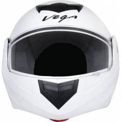 Vega Crux Dx White Full Face Helmet, Size (Large, 600 mm)