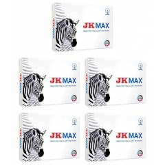 JK 67 GSM A4 Max White Copier Paper (Pack of 5)