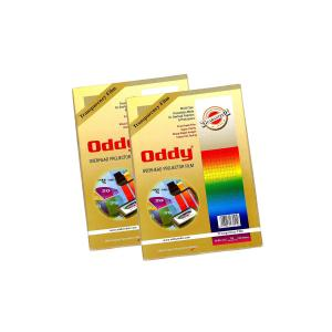 Oddy 75 Micron Interleaved Clear Transparent Polyester Film (OHP Sheets), CT75A4100 (Pack of 2)