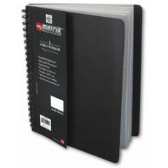 Bilt Matrix Single Subject Premium Notebook, RESA41SH, Size: A4 (Pack of 10)