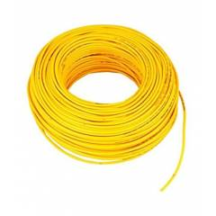 RISTACAB 90m Yellow PVC Insulated Unsheathed Copper Cable, 1.5 Sqmm