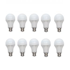 Audeom 9W B-22 White LED Bulbs (Pack of 20)