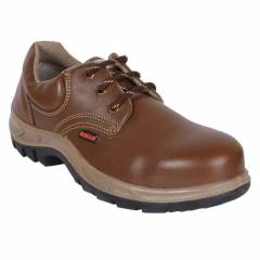 Karam FS 61 Steel Toe Brown Safety Shoes, Size: 6