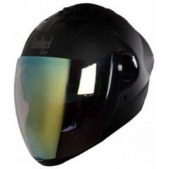 Steelbird SBA-2 DV Matt Black Full Face Night Vision Helmet, Size (Large, 600 mm)