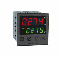Multispan Double Display Programmable Temperature Controller, UTC-221