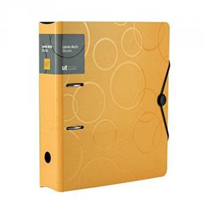 Callas 3 Layer Polymer Elite Executive/Corporate Series Lever Arch File (Yellow)