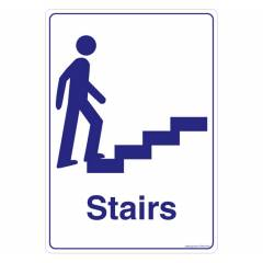 Safety Sign Store Stairs Sign Board, GS853-A5V-01